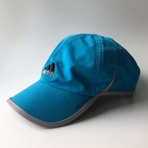 Adidas // Blue Adizero Lightweight Running Hat